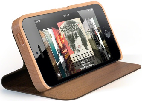 Miniot shows new Book, Pouch, iWood for iPhone 5 01