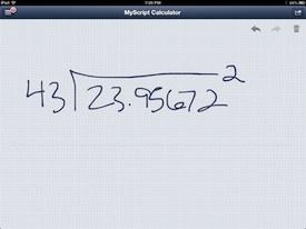 MyScript Calulator 2
