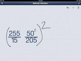 MyScript Calulator 4
