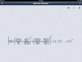 MyScript Calulator 5