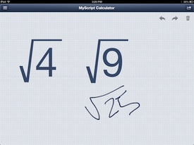 MyScript Calulator 6