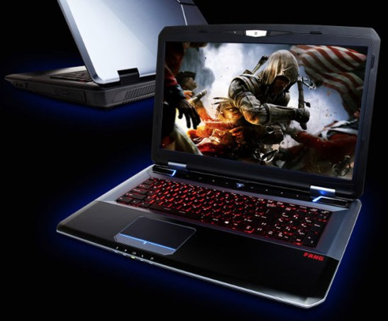 CyberPowerPC FangBook X7 Gaming Notebook